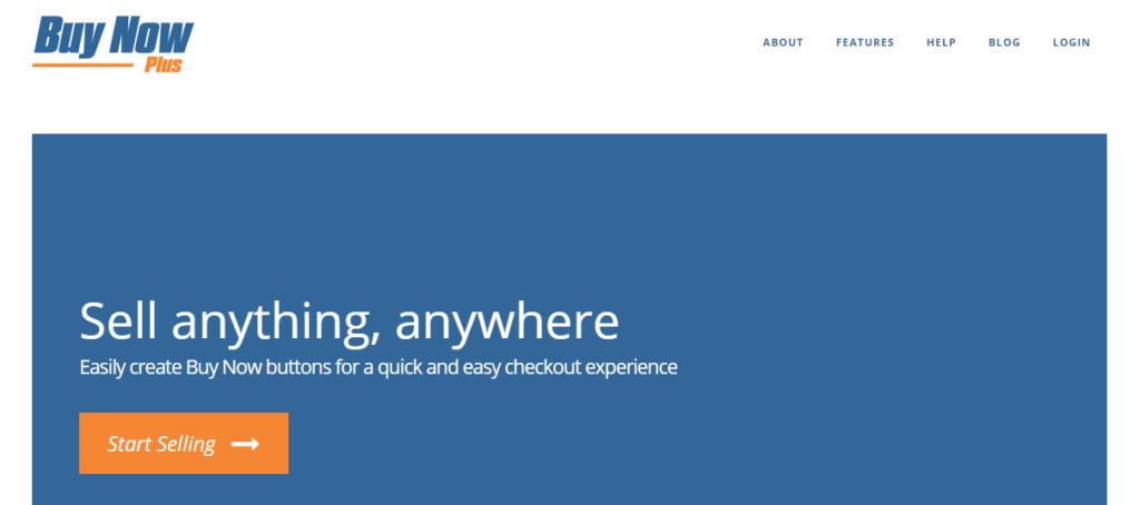 Buy Now Plus homepage